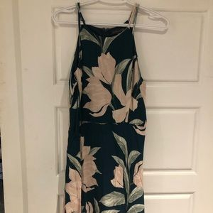 Dynamite summer dress, size medium, green floral